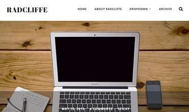 Radcliffe WordPress Template
