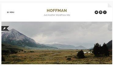 Hoffman WordPress Template