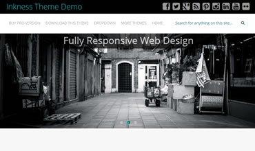 Inkness WordPress Template