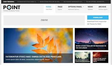 Point WordPress Template