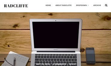 Radcliffe WordPress Template