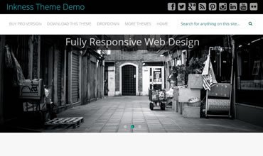 Inkness WordPress Template