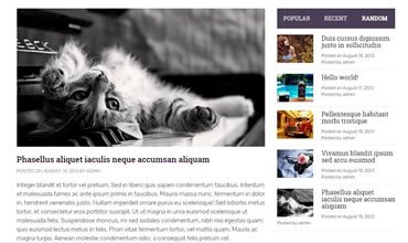 Yegor WordPress Template