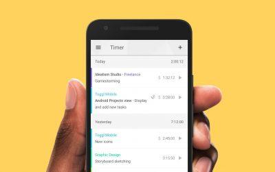 Productiever Bloggen met Toggl