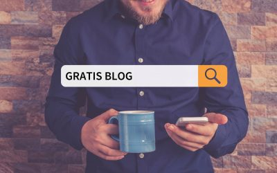 Gratis blog maken