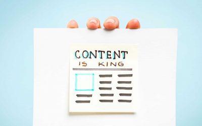 Blog schrijven: content is king